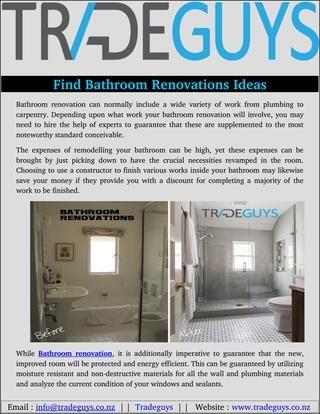 Find bathroom renovations ideas   Bathroom renovations ...