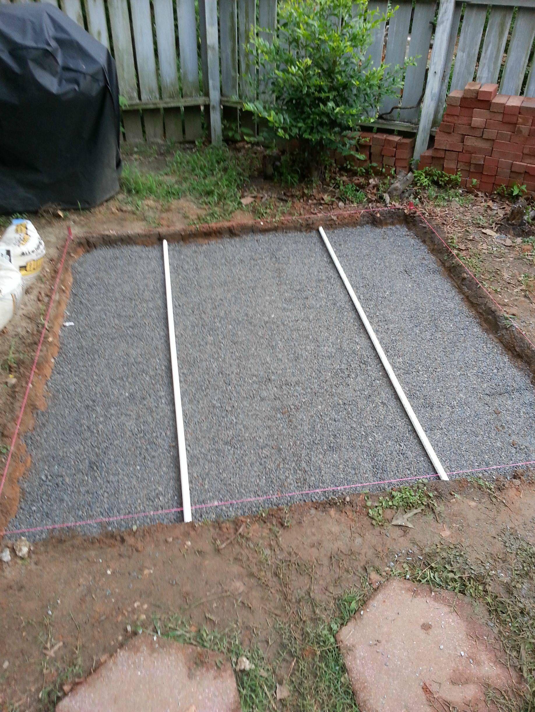 diy backyard patio brick patios backyard