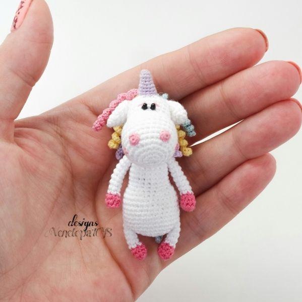 Unicorn Amigurumi Pattern | crocheted toys amigurumi ...