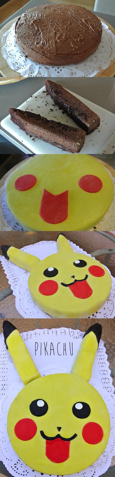 Pikachu step by step