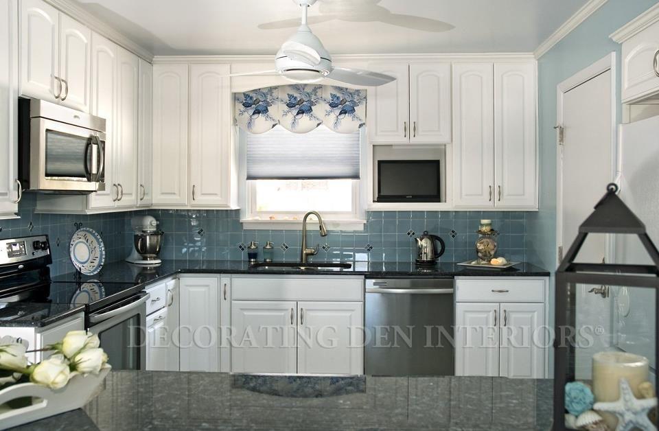 Best Decorating Coastal Color Blue Coral This Coastal Cottage 400 x 300