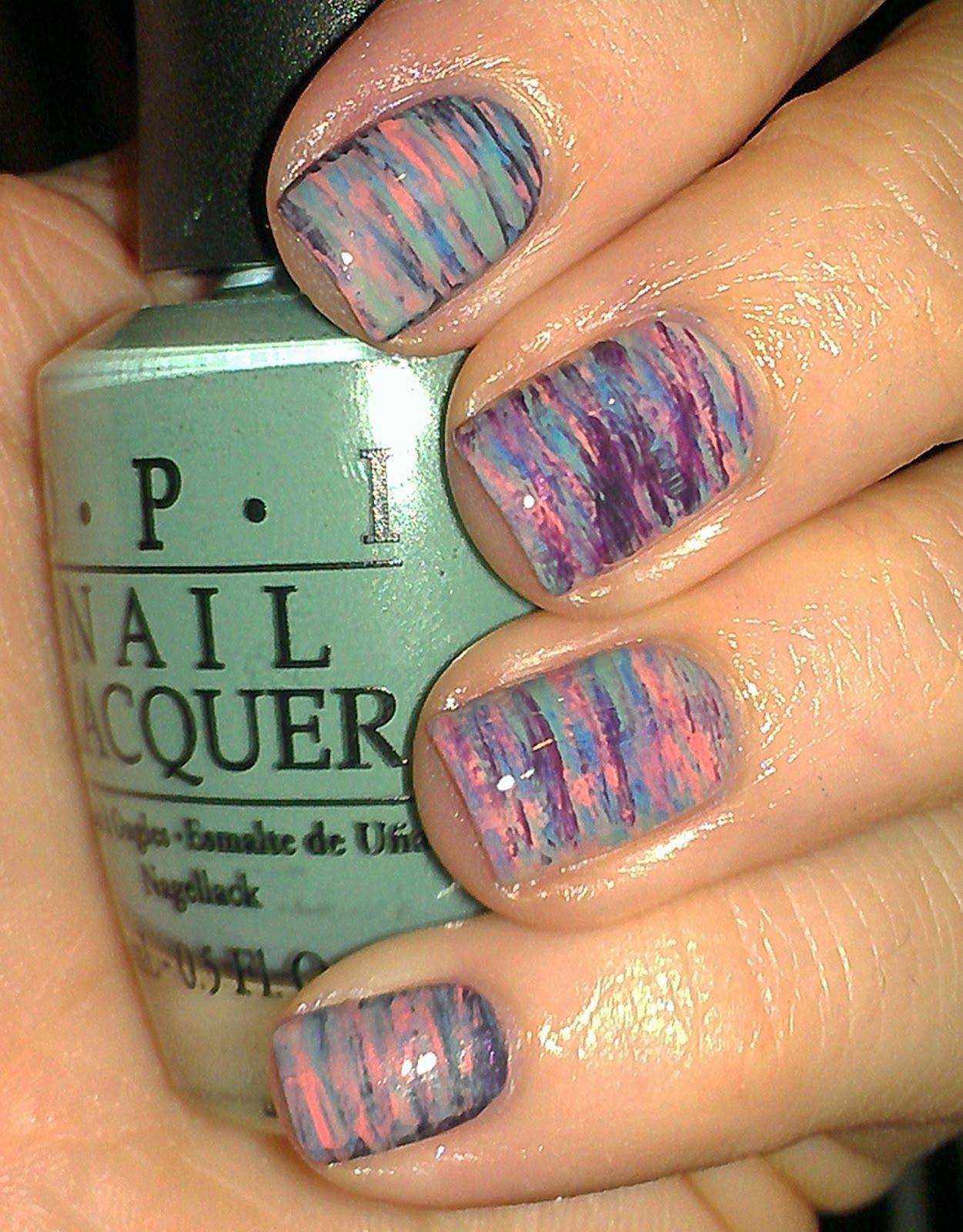 fan brush nail design | Nail Art | Pinterest | Fan brush nails and ...