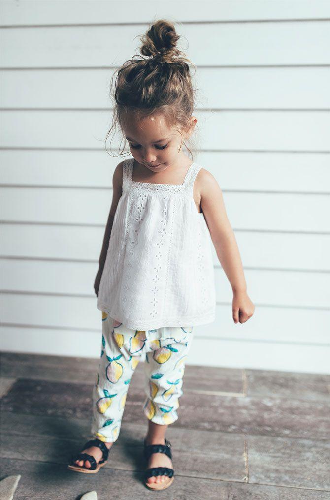 Zara Zaraeditorial Kids Summer Collection Baby
