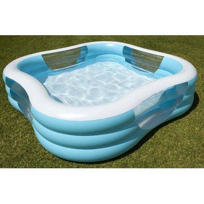 Intex 57495ep 90 X 90 X 22 Swim Center Family Pool Assorted Colors Check Out The Image By Visiting The Li Family Inflatable Pool Family Pool Inflatable Pool