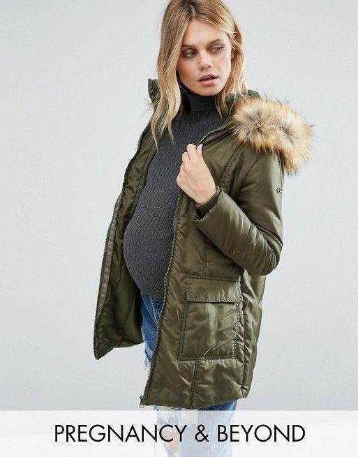 3-in-1 maternity coat from ASOS.   Maternity coat, Coat ...