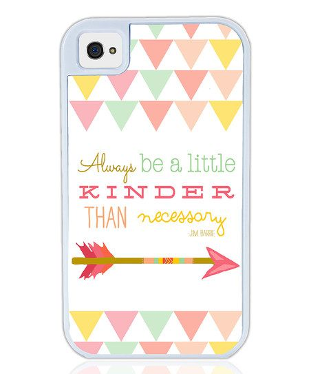 Love that everyone who sees your phone would see this reminder. (Plus - arrows!) :: Case for iPhone & Galaxy S