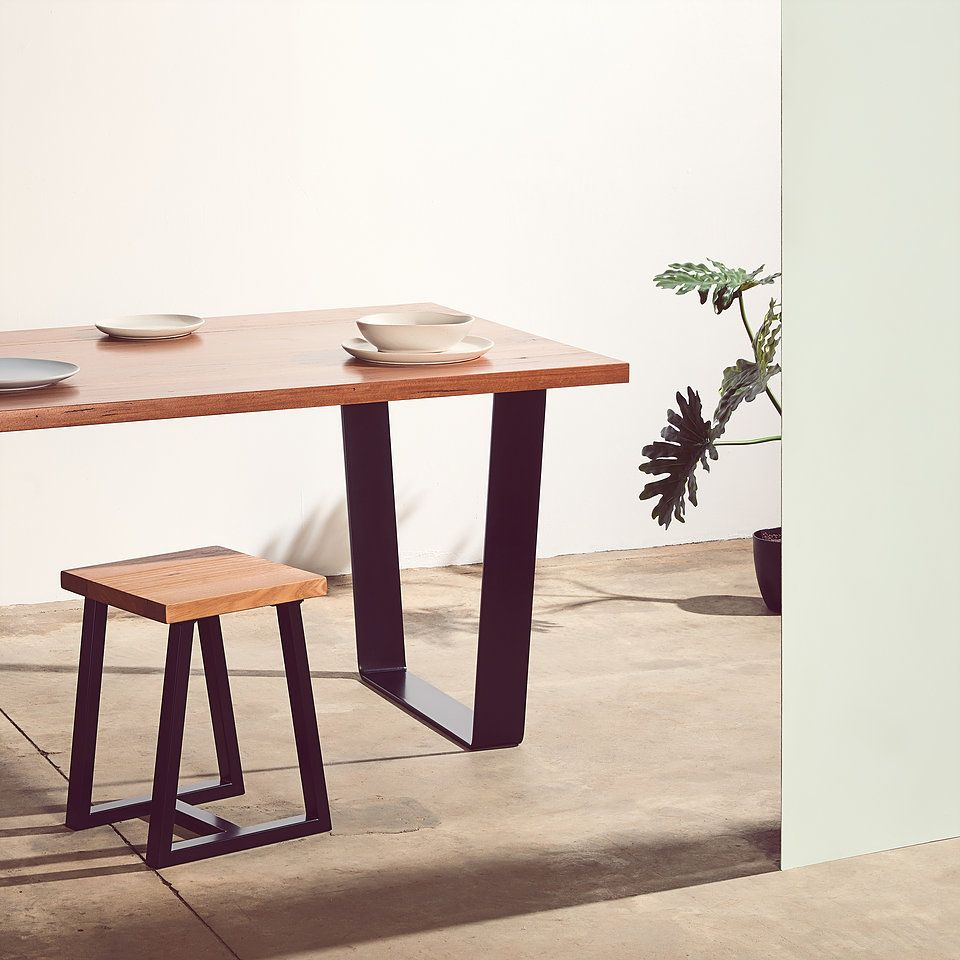 Bespoke Dining Tables Melbourne Australian Hairpin Legs With