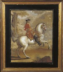 A REVERSE GLASS PAINTING  PROBABLY GERMAN, LAST QUARTER 18TH CENTURYhttp://www.christies.com/