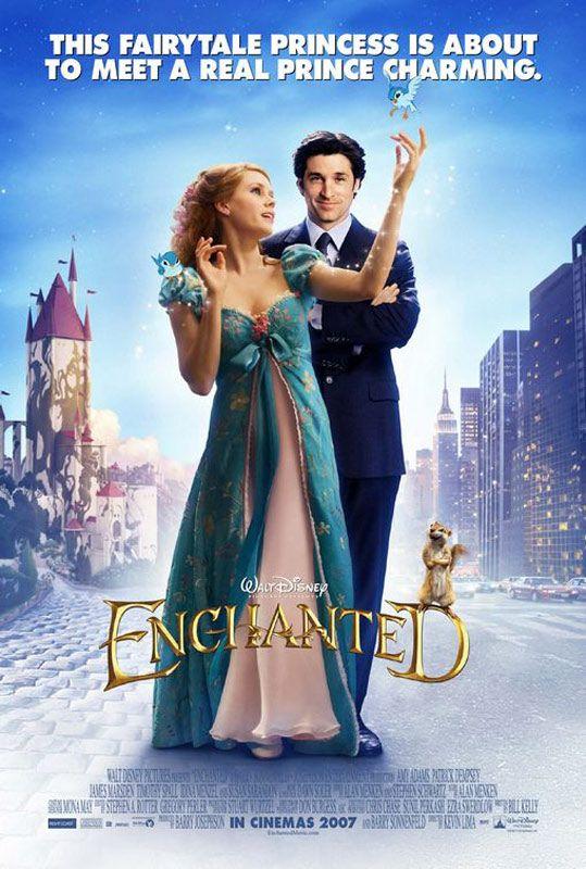 Il Etait Une Fois Un Film Plutot Sympa Enchanted Movie Disney Movie Posters Romantic Movies