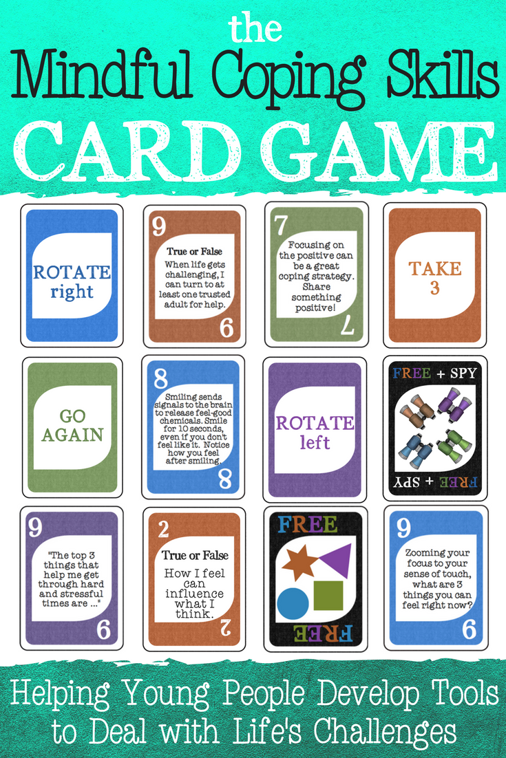 how to play stress card game