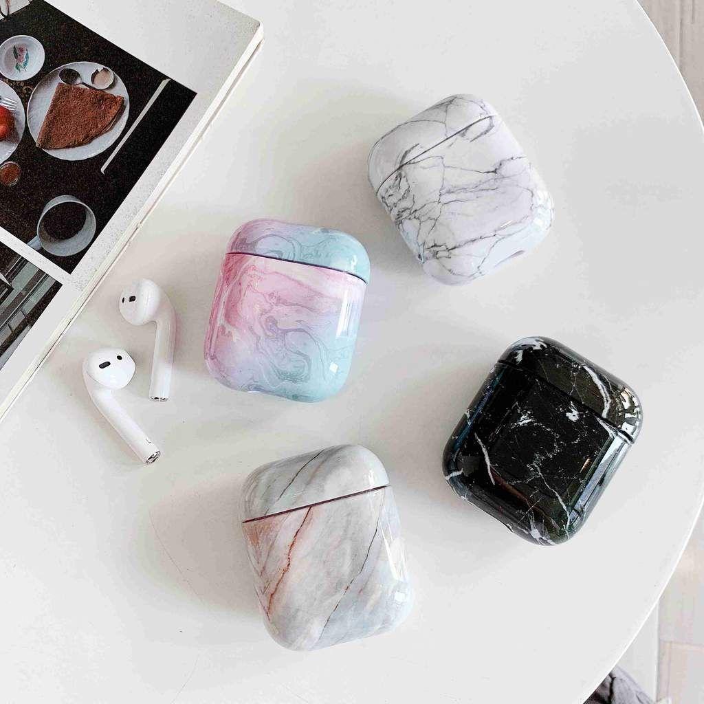 Hipcity Marble Print Airpod Case Earbuds Case Earphone Case Apple Phone Case