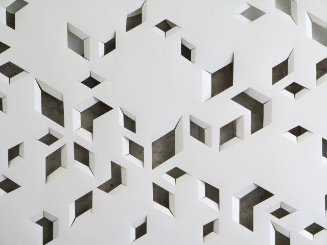 Geoff Nees art Architektur, Struktur