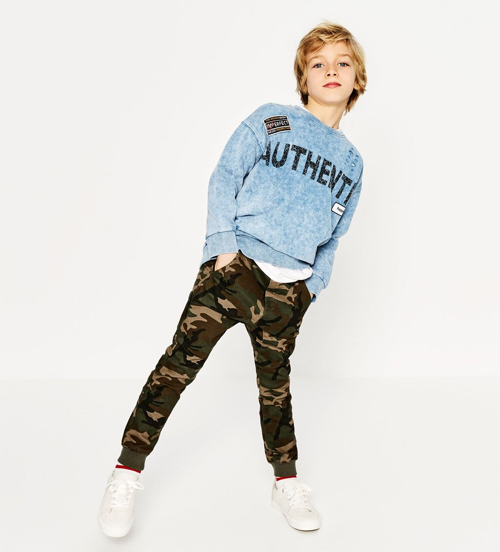 6247a5da CAMOUFLAGE JOGGING TROUSERS-NEW IN-BOY | 4-14 years-KIDS | ZARA United  States