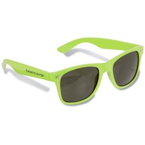 Share your view with them with these imprinted sunglasses!