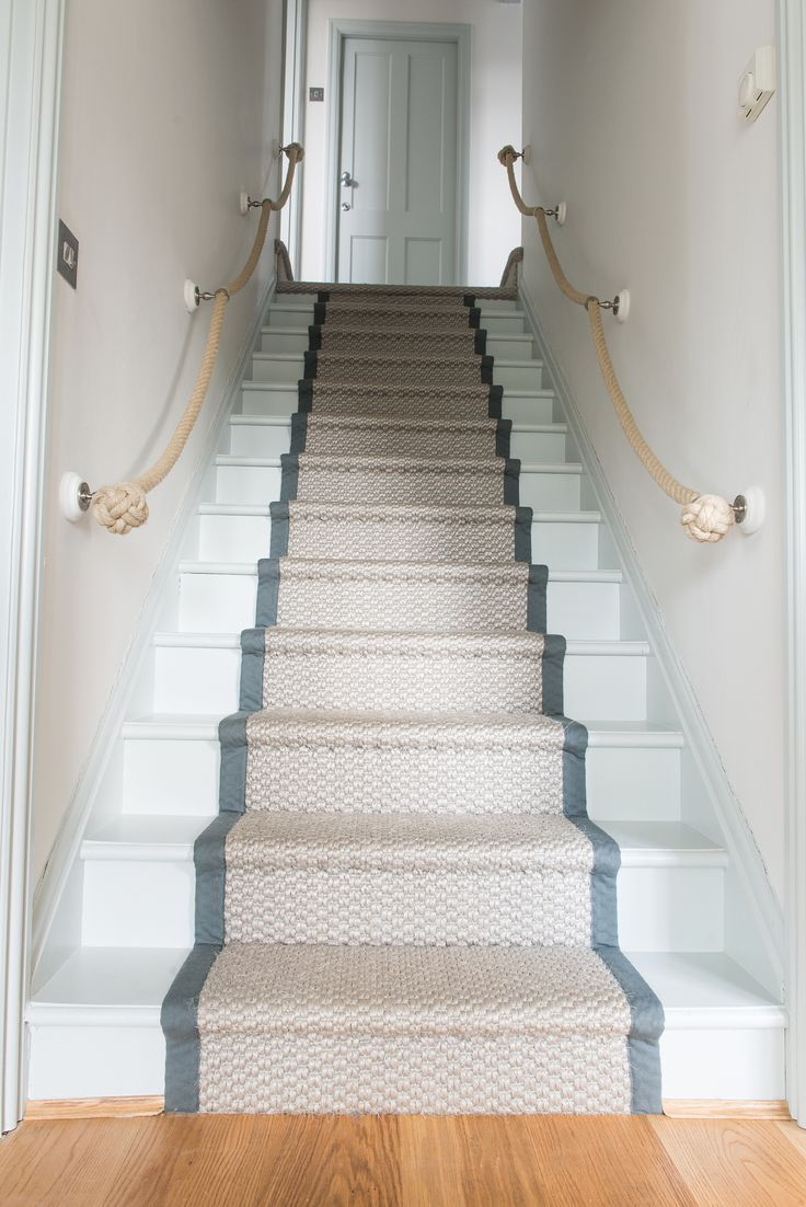 Matten New Very Long Narrow Thin Stairway Staircase Carpet Runner | Thin Carpet For Stairs | Area Rug | Grey | Stair Runners | Flooring | Hallway