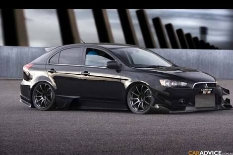 mitsubishi lancer sportback stance」の画像検索結果 | cars