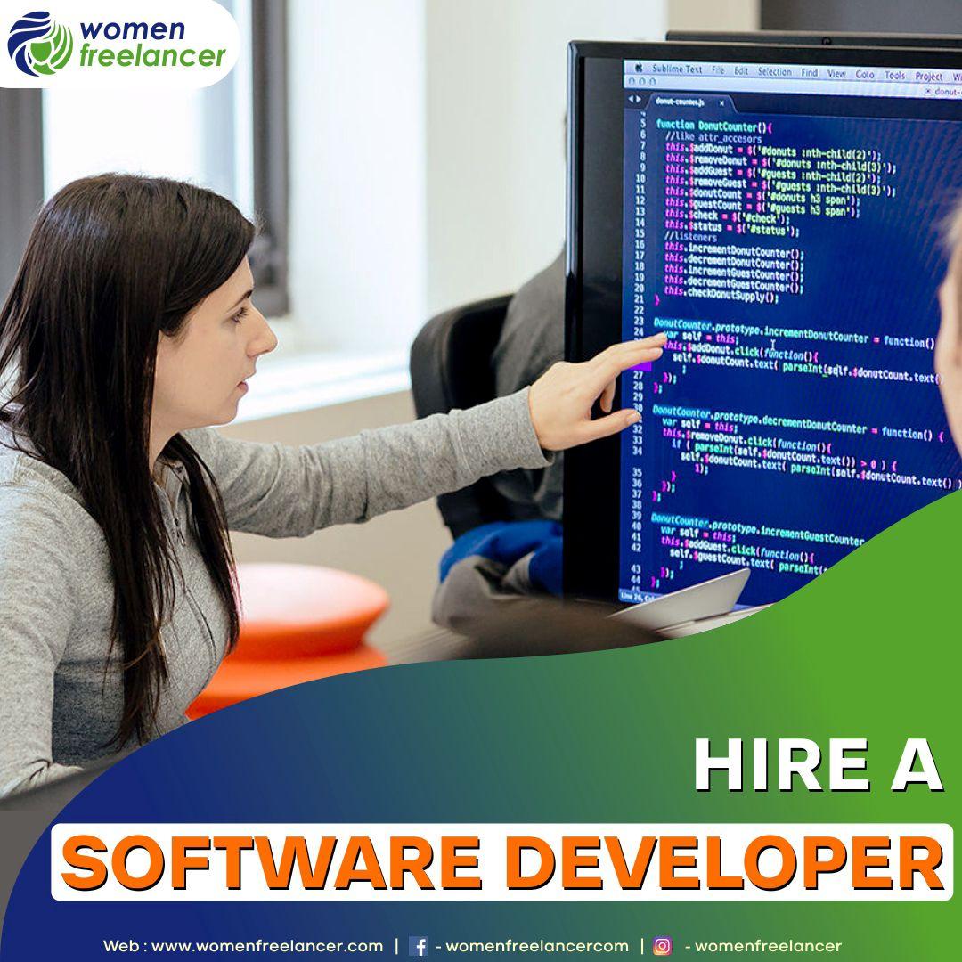 Hire A Software Developer Freelancing Jobs Software Development Friday Motivation