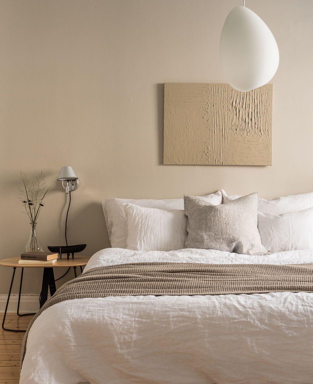 Épinglé par Muriel sur Chambre à coucher  Chambre à coucher beige