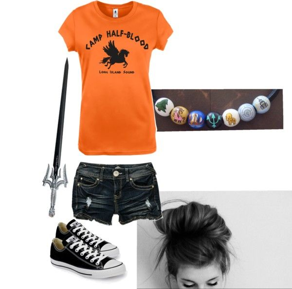"""""""Camp Half-Blood"""" by under-pressure ❤ liked on Polyvore"""