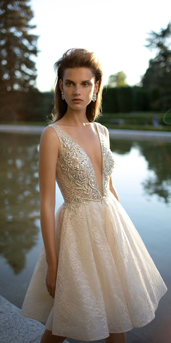27 Amazing Short Wedding Dresses For Petite Brides | Standesamt ...
