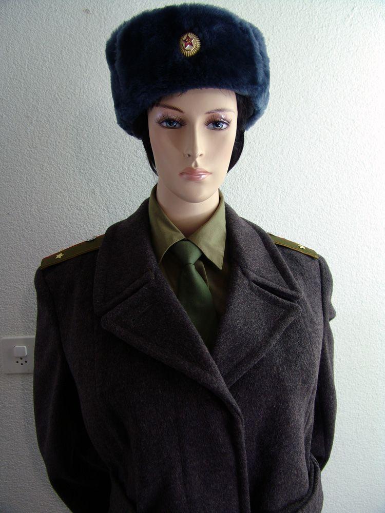 Female Soviet Army Winter Uniform My Soviet Military