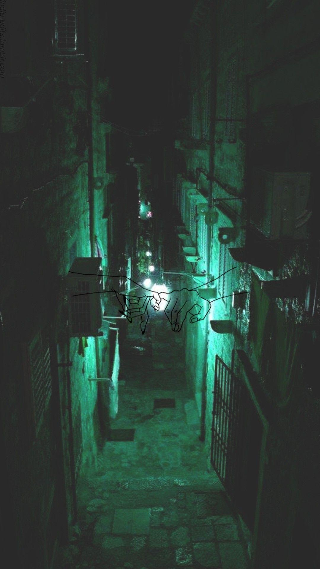 Dark Green Aesthetic Slytherin