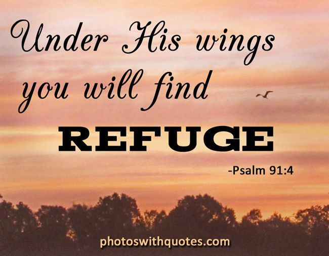 Christian Quotes Under His Wings  I Got This Today  Check It Out  Pinterest