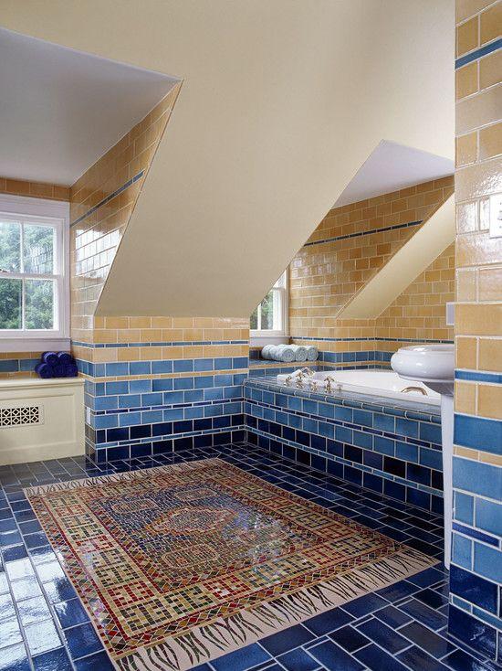 LOVE THAT MOSAIC CARPET!!!! Take a look inside! Bathroom ...