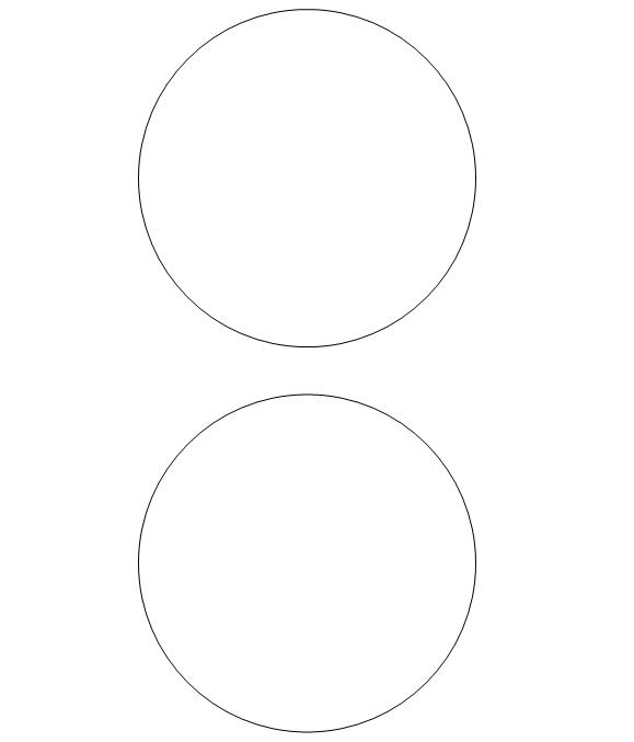 Free Printable Circle Templates Large Small Stencils Printable Circles Circle Template Printable Patterns
