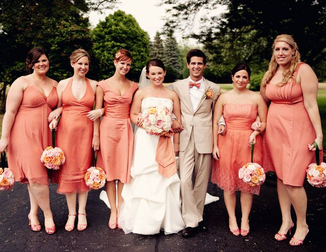 24 Traditions You Can Skip Peach Bridesmaid Dressespeach Dressesmale