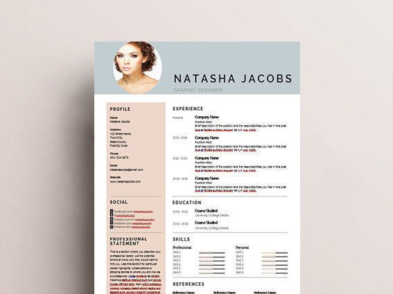 Creative Resume Template  Professional And Modern Resume Template