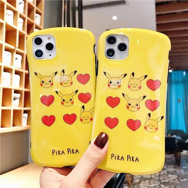 Cute pikachu phone case for iphone 66s6plus6splus7