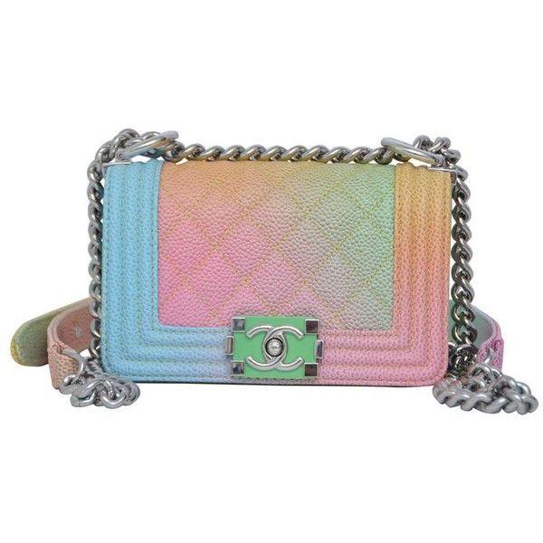 6c7b1a52746c Super Rare Chanel MICRO Rainbow Cuba Boy Handbag  17 Crossbody NEW ...