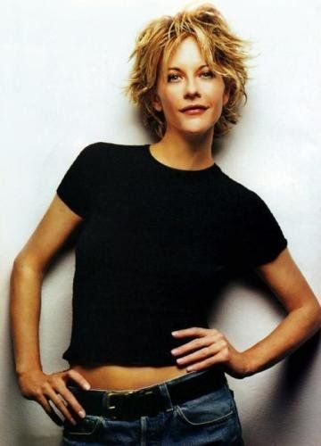 Meg Ryan. Gawd I love her. Before she effed up her face. :[