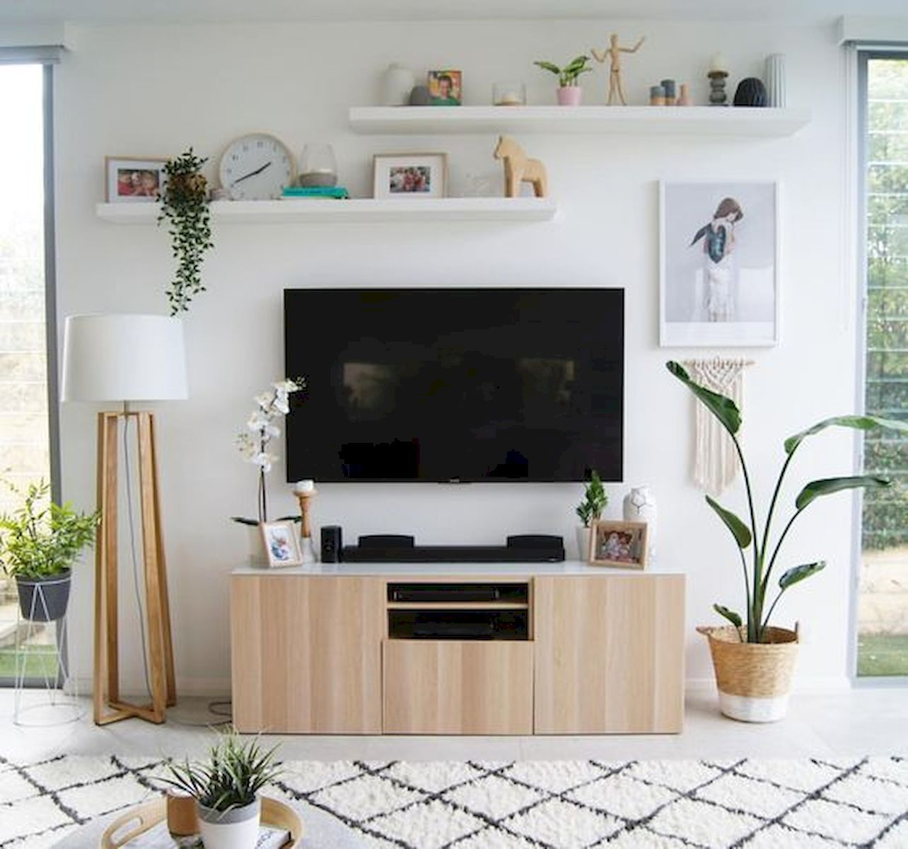 80 Amazing Living Room Tv Wall Decor Ideas And Remodel Ikea Living Room Living Room Tv Wall Wall Decor Living Room