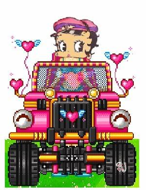 betty boop Jeep by neta1957 - Photobucket