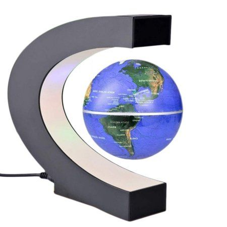2017 new funny c shape magnetic levitation floating globe world map 2017 new funny c shape magnetic levitation floating globe world map with colored led light anti gumiabroncs Image collections