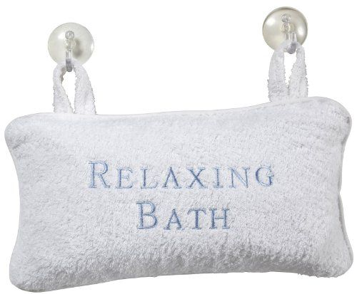 Bath Accessories Luxury Bath Pillow, Velour $20.15 (11% OFF)