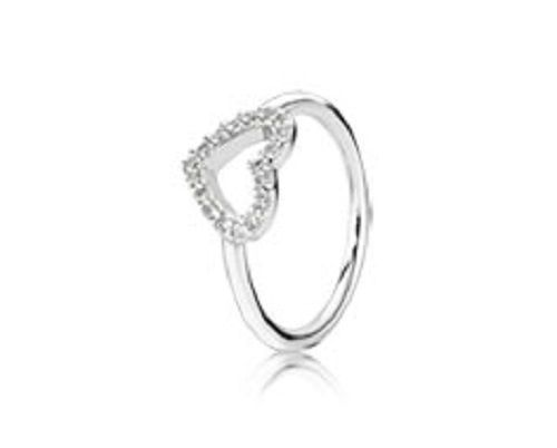 492ac8546 Authentic Pandora Ring Be My Valentine Size 56 190861Cz Box Included