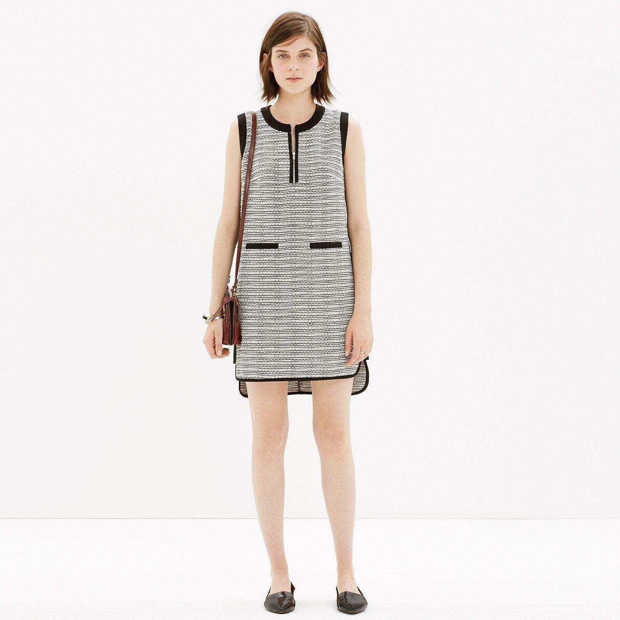 Tweedweave Shiftdress : dresses & skirts | Madewell