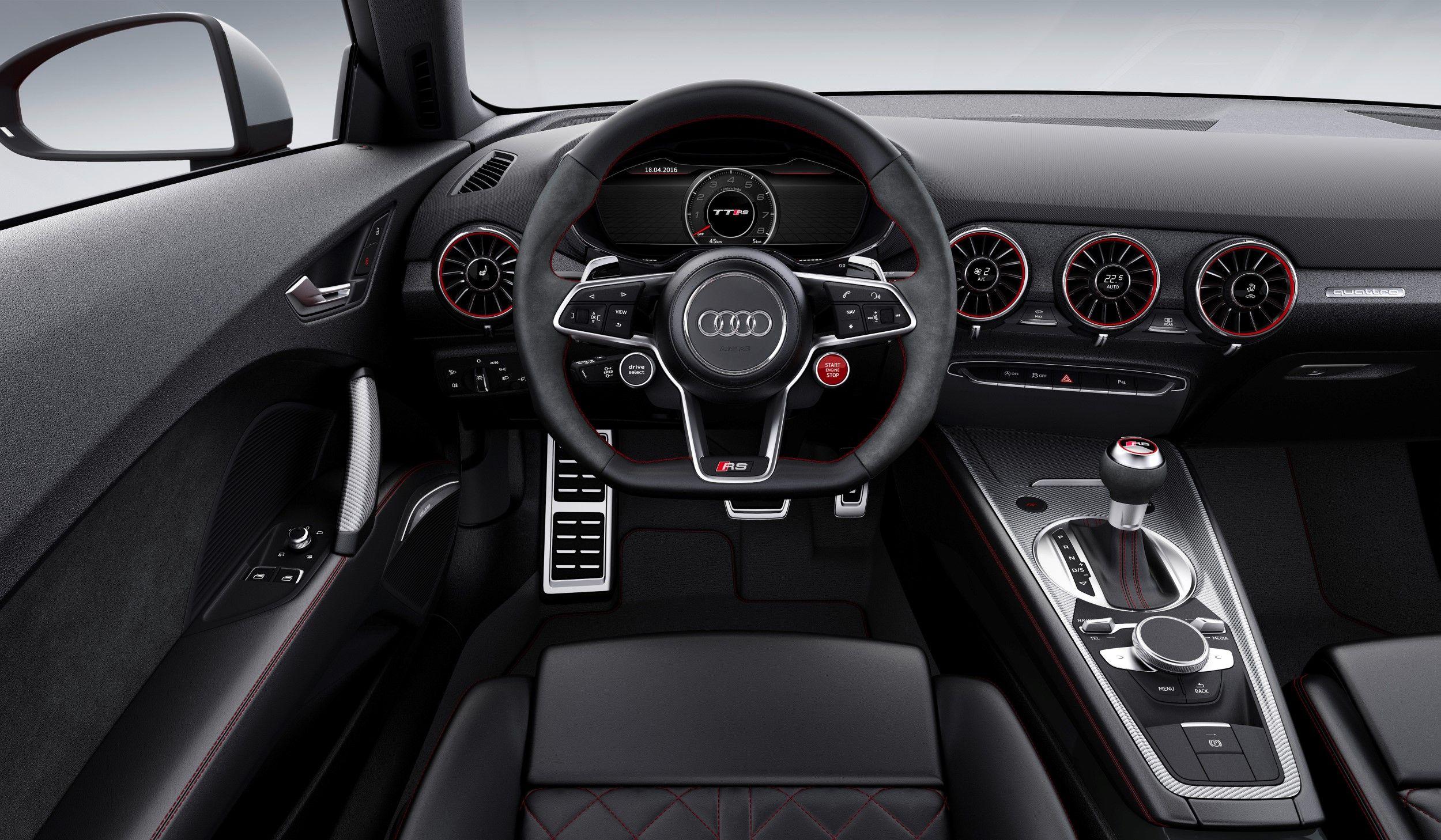 2017 Audi TT RS Audi Pinterest