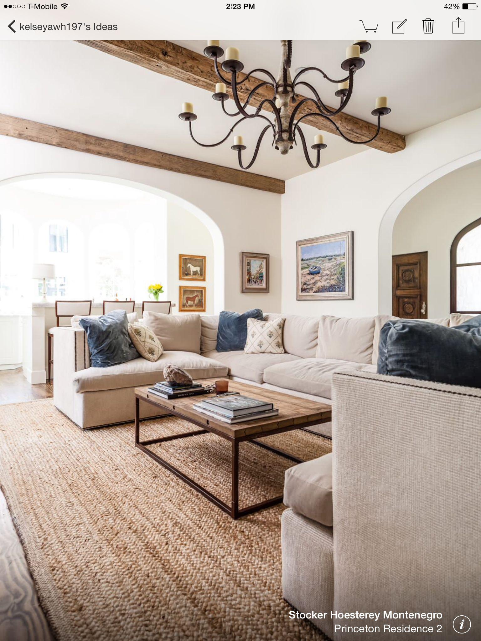 Alternative living room look. I slightly prefer the bright ...