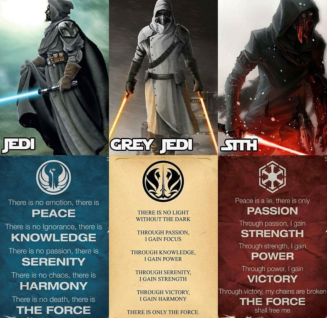 Which Side Of The Force Are You With Starwars Starwarsverse