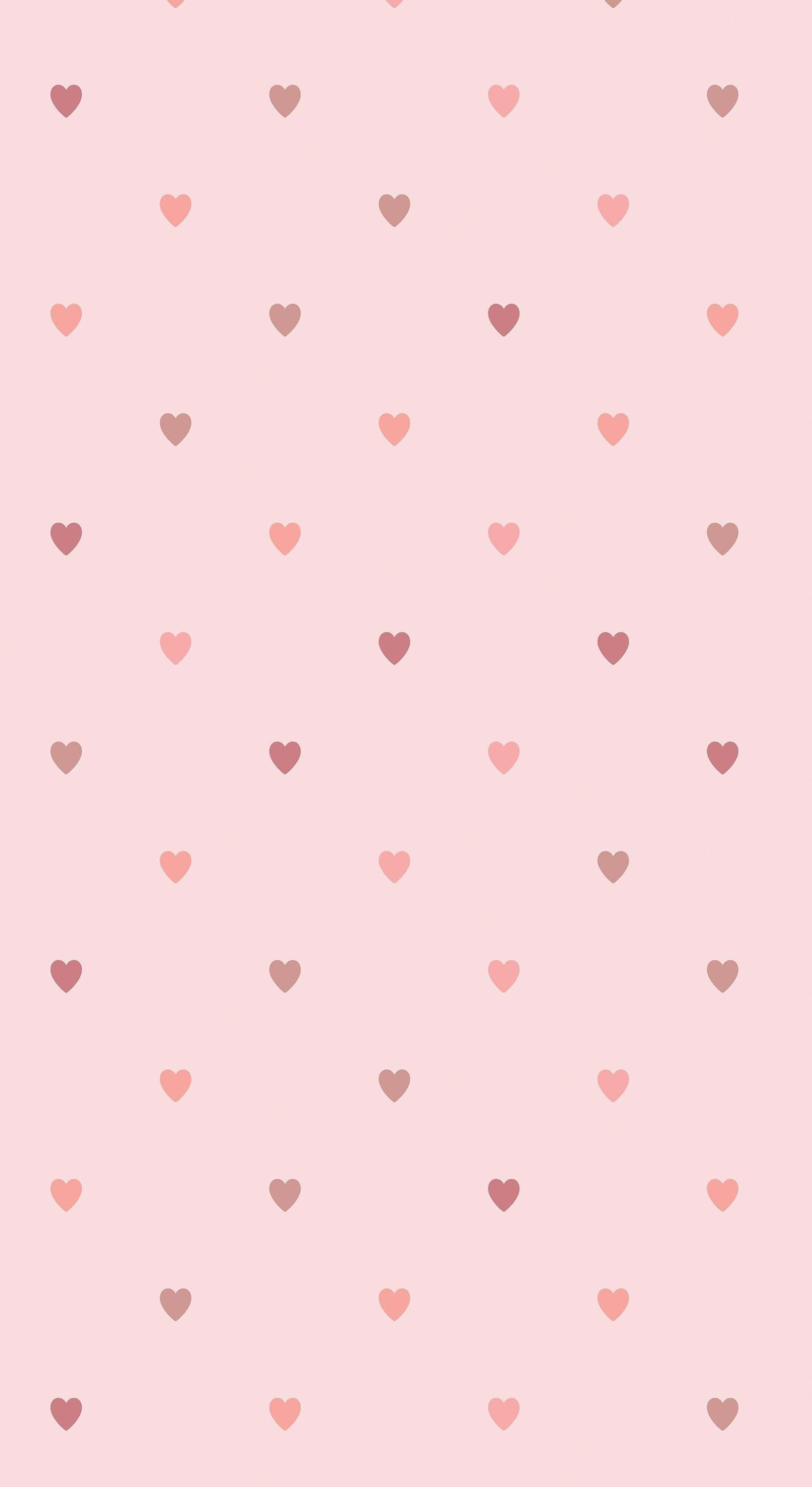 Luxury Pink Heart Wallpaper For Mobile Wallpaper Iphone Wallpaper Iphone Lucu Wallpaper Ponsel
