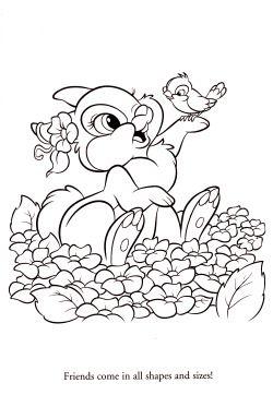 Kleurplaten Lente Disney.Disney Coloring Pages Lente Colores Pintar En Colorear Disney