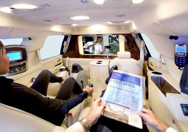Escalade Interior Vip Black Collar Machines Pinterest