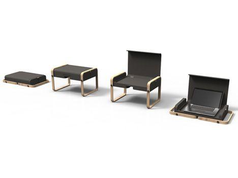 Bon Folding Portable Laptop Desk