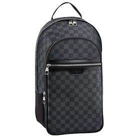 Louis Vuitton Damier Graphite Michael Backpack   ideas.   Louis ... e5b5809eec