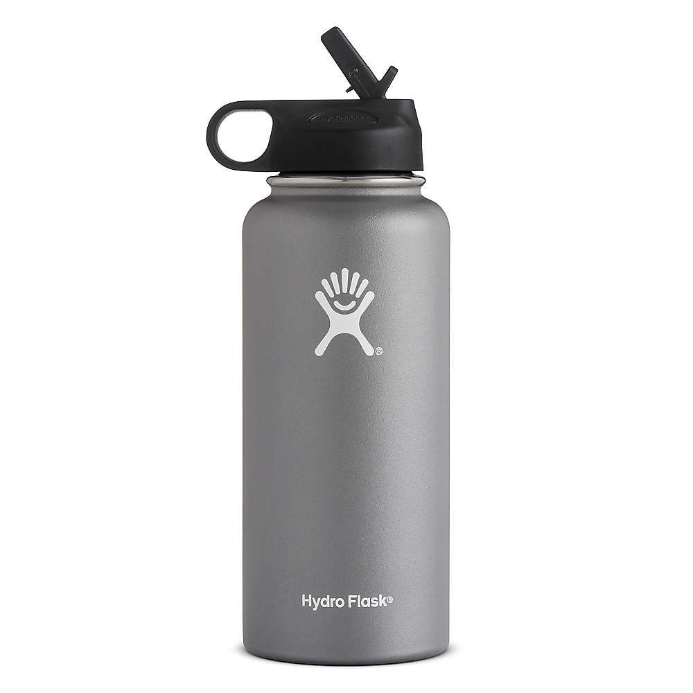 Hydro Flask 32oz Wide Mouth Insulated Bottle With Straw Lid Flask Water Bottle Hydro Flask Water Bottle Insulated Bottle