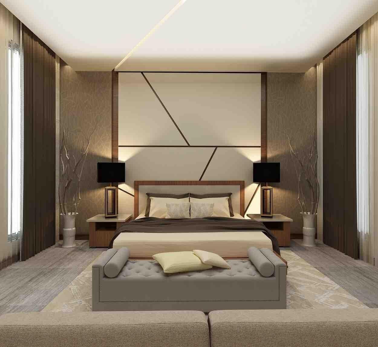 Bedroom/Guestroom/Hallways In